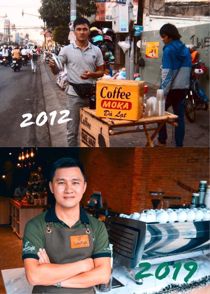 Hoàng Việt Founder Laha Cafe