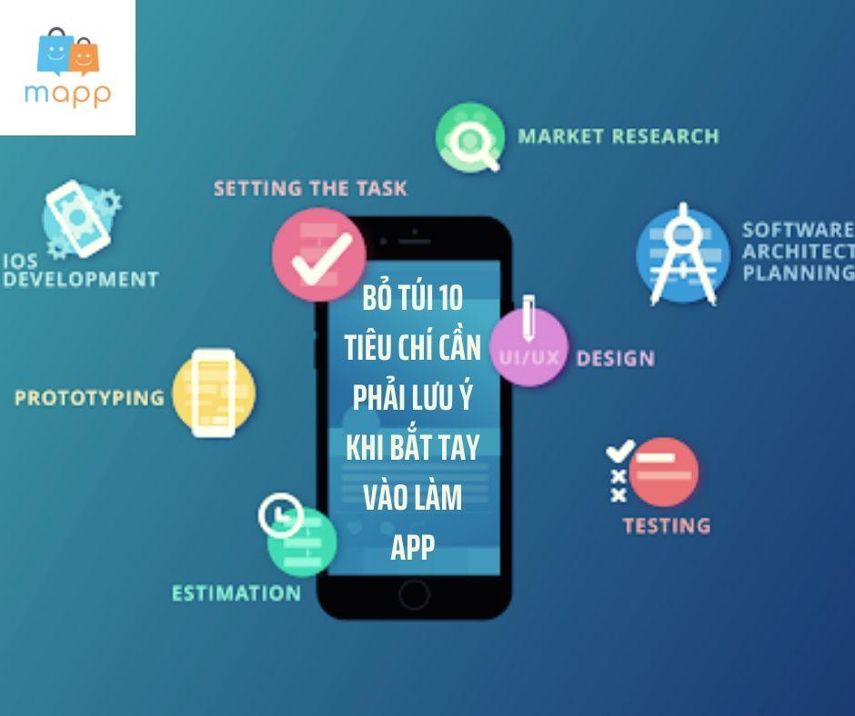 Tạo app bán hàng online cần biết 10 tiêu chí sau đây