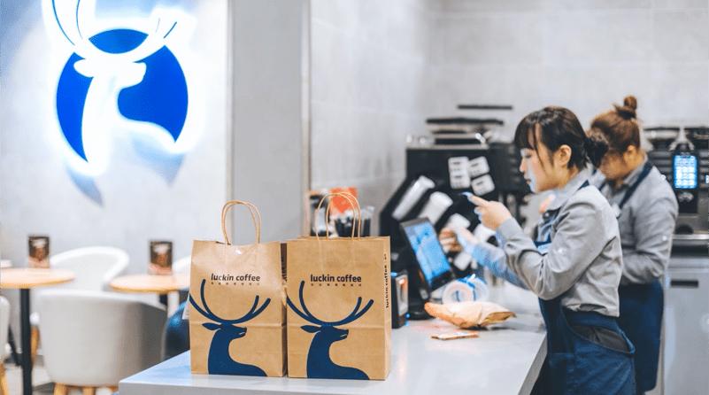 Luckin Coffee là thương hiệu chuỗi cà phê mới nổi ở Trung Quốc. Chỉ sau năm đầu phát triển, cửa hàng gần như có mặt ở mọi nơi